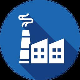 Economy, Factory, Industry, Plantproduction, Manufacturer Icon