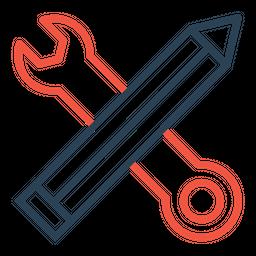 Edit, Pen, Preference, Service, Setting, Tool, Write Icon