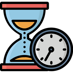 Egg Timer Colored Outline Icon