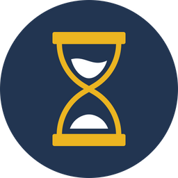 Egg Timer Dualtone Icon