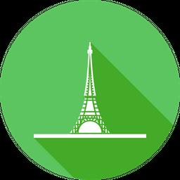 Eiffel, Tower, Paris, France, Wonders, Of, World, Europe, Tallest, Building Icon