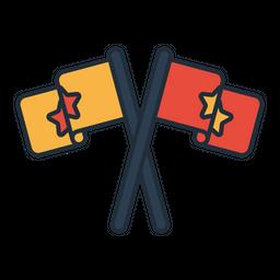 Election flag Icon