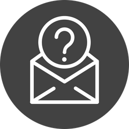 Email, Mail, Help, Support, Learn, Confuse, Question Icon