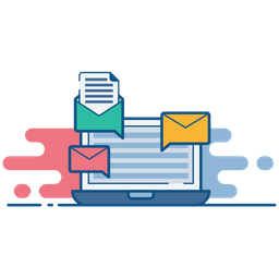 Email, Marketing, Seo, Newsletter, Advertising, Press, Release Icon