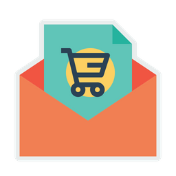 Email, Shop, Shopping, Online, Ecommerce, Message, Offer Icon