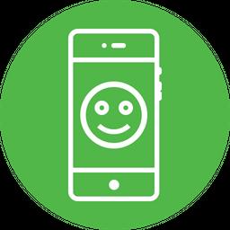 Emoji, Smile, Smiley, Badge, Round, Face, Fresh Icon