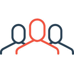 Employee, Group, Team, Company, Men, Avatar, Organization Icon