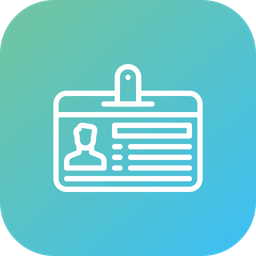 Employee Id Icon Of Line Style Available In Svg Png Eps Ai Icon Fonts