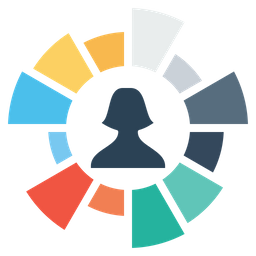 Employee, Performance, User, Female, Chart, Graph, Gauge Icon png