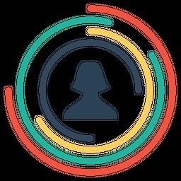 Employee, Performance, User, Female, Chart, Graph, Gauge Icon