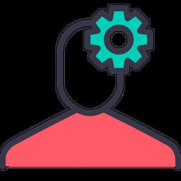 Employee, Settings, Gear, Preferences, Optimization, Avatar Icon