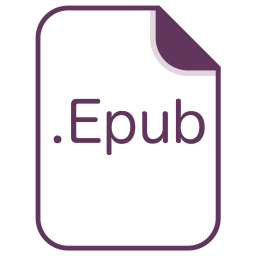 Epub, File, Document, Extension, Filetype Icon