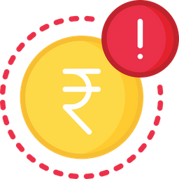 Error in payment Icon