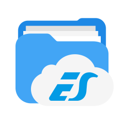 Es file explorer Logo Icon of Flat style - Available in SVG