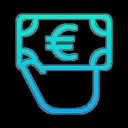 Euro Giving Icon