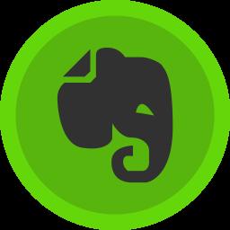Evernote Flat  Logo Icon
