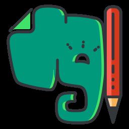 Evernote Logo Icon