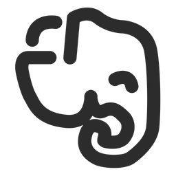 Evernote Icon Of Line Style Available In Svg Png Eps Ai Icon Fonts
