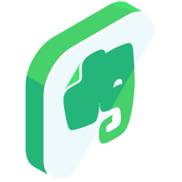 Evernote Logo Icon Of Isometric Style Available In Svg Png Eps Ai Icon Fonts