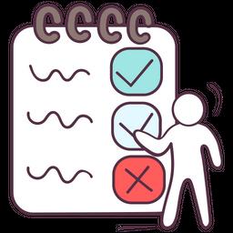 Exam Sheet Icon