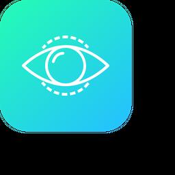 Eye, Mission, Vision, View, Find, Search, Idea, Future Icon