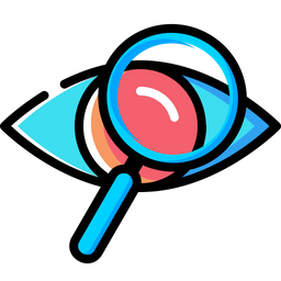 Eye, Mission, Vision, View, Find, Search, Magnifier, Glass Icon png
