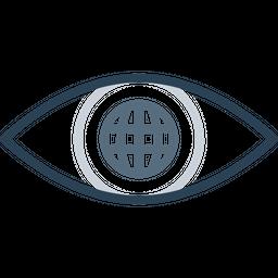 Eye, Mission, Vision, View, Internet, Web, Search Icon