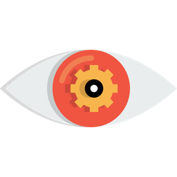 Eye, Mission, Vision, View, Settings, Gear, Preferences Icon
