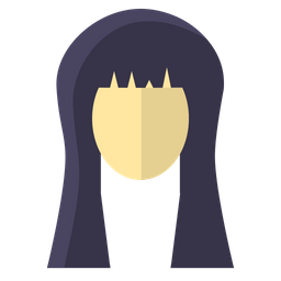 Face, Girl, Long, Hair, Hairstyle, Beauty, Treatment Icon png