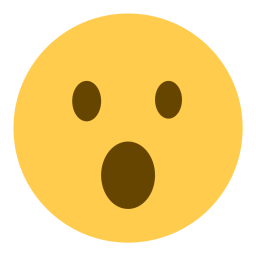 free face mouth open sympathy emoji icon download in svg png