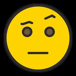 Face With Raised Eyebrow Emoji Icon