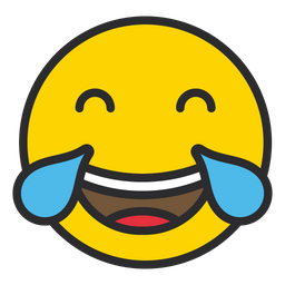 Face With Tears Of Joy Emoji Icon