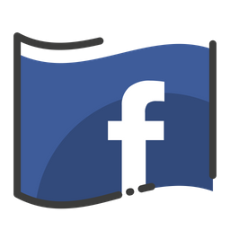 Facebook Logo Icon Of Colored Outline Style Available In Svg Png Eps Ai Icon Fonts