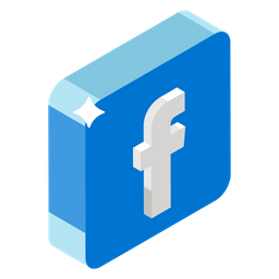 Facebook Icon Of Isometric Style Available In Svg Png Eps Ai Icon Fonts