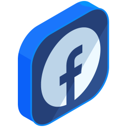 Facebook Logo Icon Of Isometric Style Available In Svg Png Eps Ai Icon Fonts