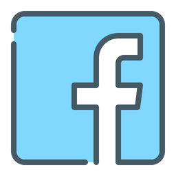 Facebook Icon Of Colored Outline Style Available In Svg Png Eps Ai Icon Fonts