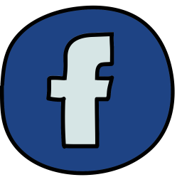 Facebook Logo Icon Of Doodle Style Available In Svg Png Eps Ai Icon Fonts