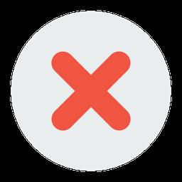 False, Delete, Remove, Cross, Wrong Icon png