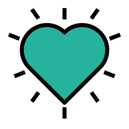 Favourite, Like, Love, Heart, Ecommerce, Cart, Wishlist Icon