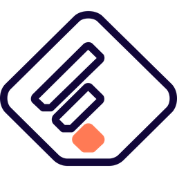 Feedly Colored Outline  Logo Icon