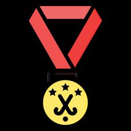 Field Hockey Medal Icon
