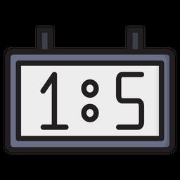 Field Hockey Scoreboard Icon