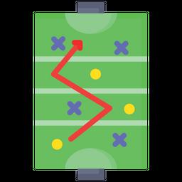 Field Hockey Strategy Icon