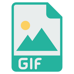 File, Filetype, Document, Gif, Extension, Image, Picture Icon