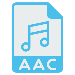 Image result for aac audio png