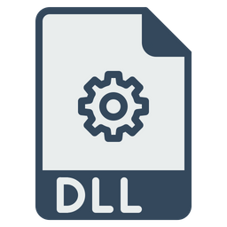 File, Format, Dll, Document, Link, Library, Coding Icon
