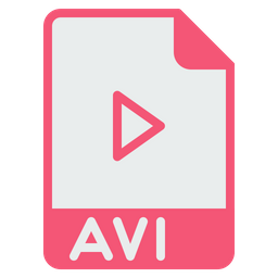 File, Format, Document, Avi, Video, Player, Extension Icon