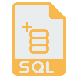 File, Format, Document, Extension, Sql, Database, Storage Icon