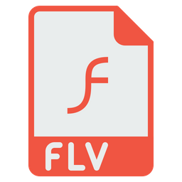 File, Format, Document, Flash, Player, Flv, Extension Icon