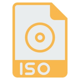 File, Format, Document, Iso, Mounting, Extension, Coding Icon